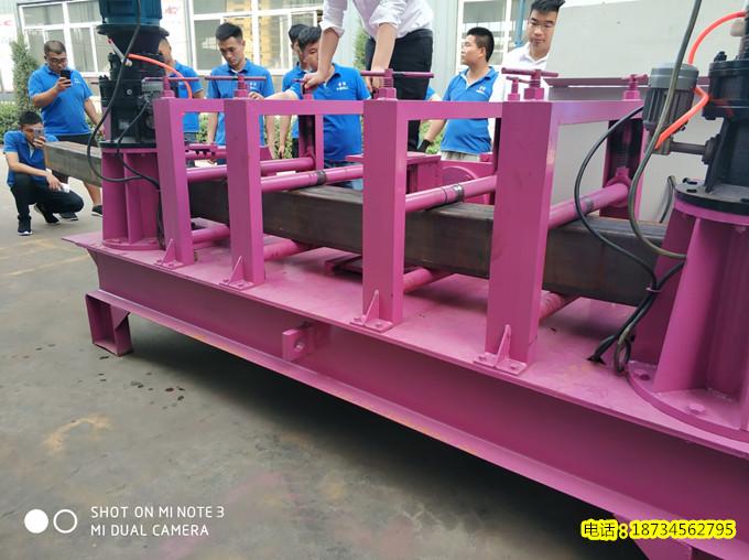 福建重庆隧道支护H钢加工机350X350H型钢成型机