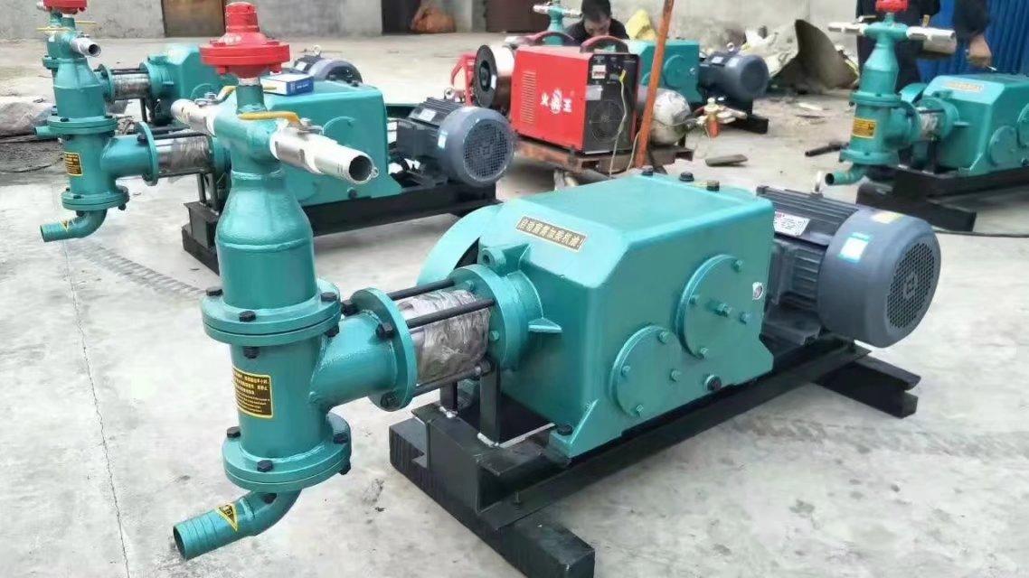 平顶山安阳双缸砂浆泵水利大坝堵水电动注浆机