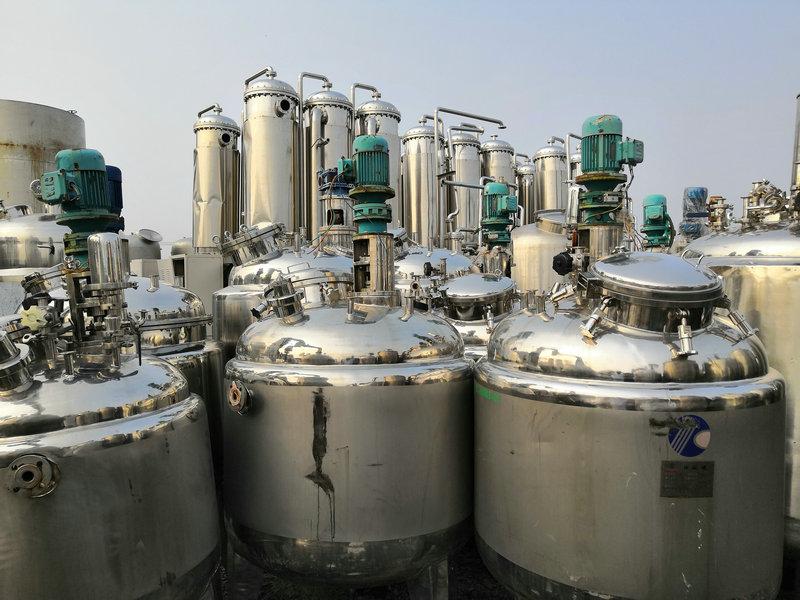 汉中二手不锈钢压力反应釜价格优惠
