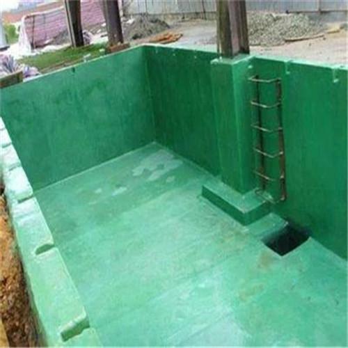 北京环氧玻璃鳞片面涂化工池防腐施工