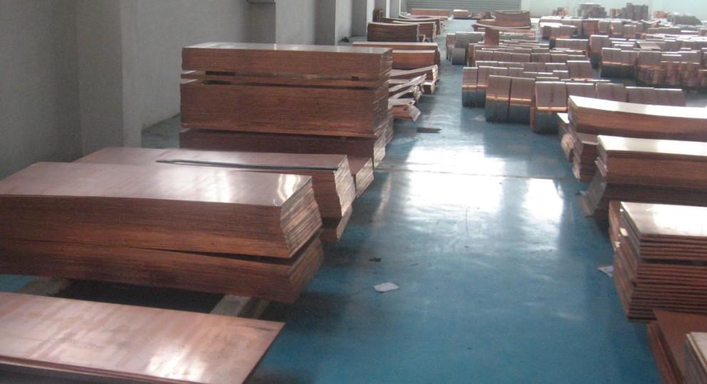 焦作紫銅板黃銅板寬銅板厚銅板現貨價格