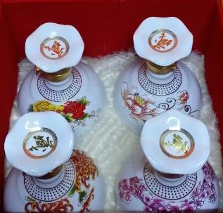 景德�陶瓷酒瓶加工制造�格-1斤-10斤
