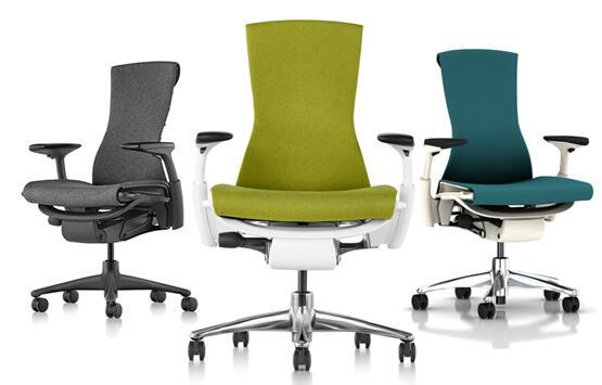 世界十大名椅美国Herman Miller Embody人体工学椅,品牌办公椅,进口办公椅