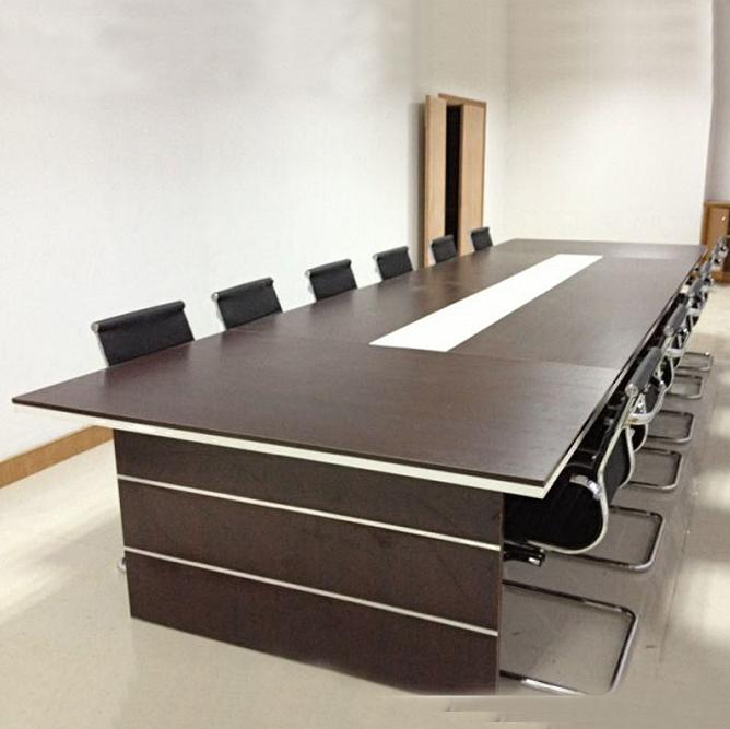 合肥送货上门安装 全新板式会议桌 钢架会议桌