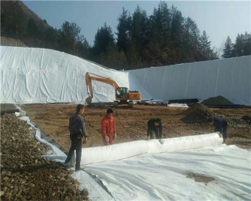 丙纶土工布养护土工布临高土建建材施工材料