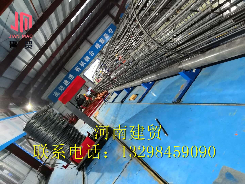 扬州双筋钢筋笼成型机图文详细