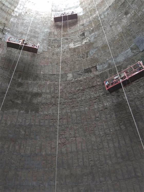 宜昌市拆除30米锅炉房砖烟囱