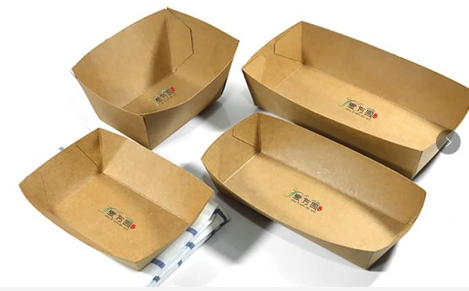 热压船盒淋膜热压纸盒加工厂东莞樟木头