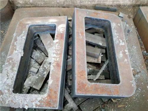 漯河290mm300mm超厚钢板切割预埋件