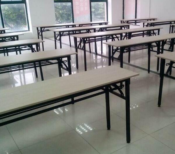 长条折叠桌椅 长条培训桌椅 长条形会议桌 合肥送货安装