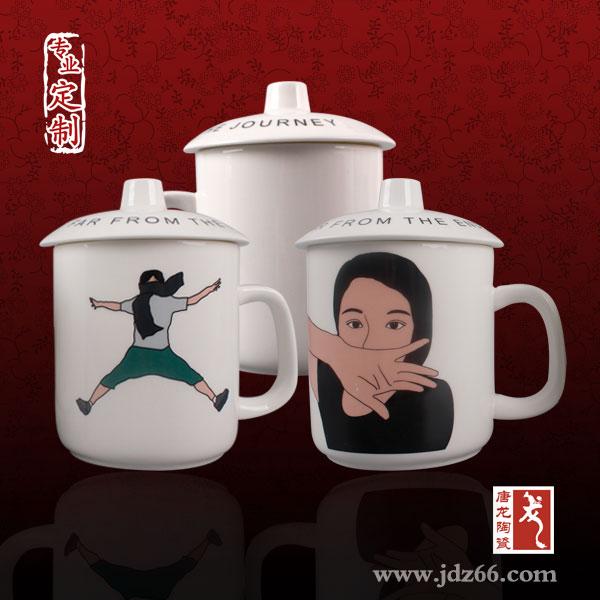 定做骨瓷杯,杯子定制,高�n�Y品茶杯定制��面,手�L高�n骨瓷套�b杯