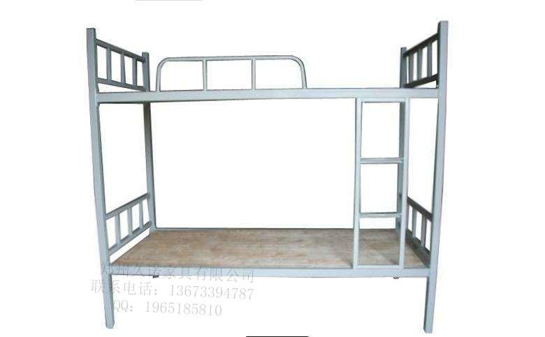 钢制上下铺铁床员工宿舍铁架床成人双层铁艺床大学生公寓床钢木床