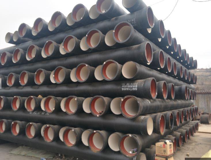 现货球墨铸铁管 给排水球墨铸铁管 规格齐全质优价廉 铸造厂直销