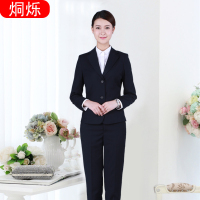 湖南烔烁女士职业套装西服两件套任意款式来图加工定做