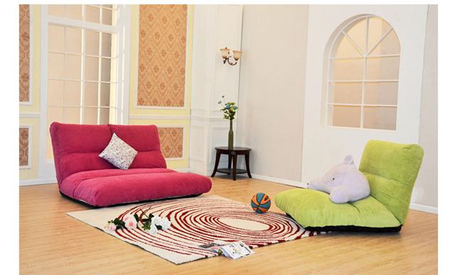 懒人沙发榻榻米折叠沙发床两用双人日式多功能榻榻米型卧室小沙发