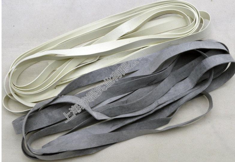 供应橡胶带 橡皮带 橡皮筋 橡筋适用于泳装6X0.5白色款