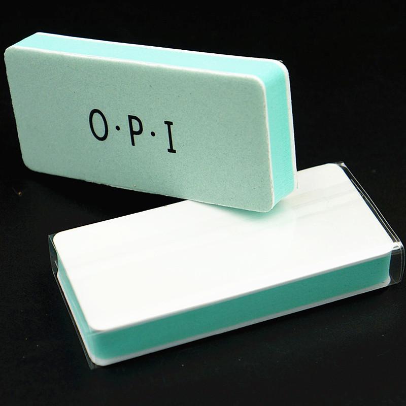 木之美廠家直銷OPI 綠心雙面拋光塊 打磨拋光二合一