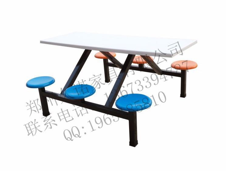 河南员工食堂餐桌椅,洛阳学校食堂餐桌椅,工厂食堂餐桌椅(图)