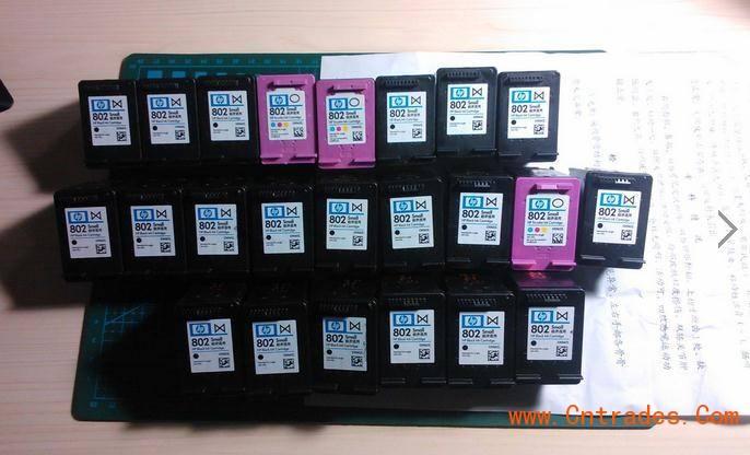 大岭山回收佳能墨盒815816回收惠普墨盒802803
