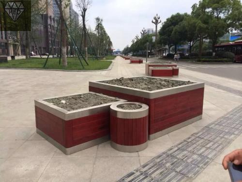 河南商丘組合式花箱hed廠家供貨
