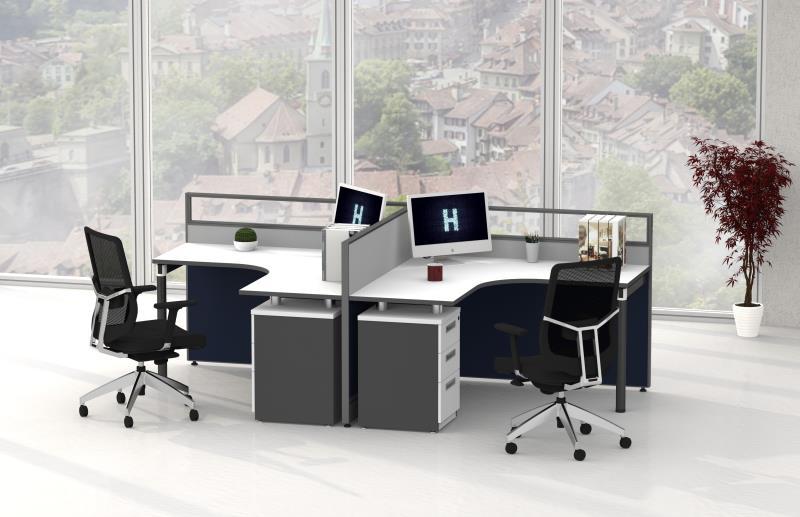 厂家直供职员屏风办公桌椅   简约屏风工作位
