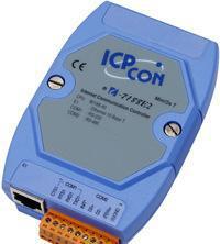供应泓格I-7188E2:1端口RS-485串口设备联网服务器
