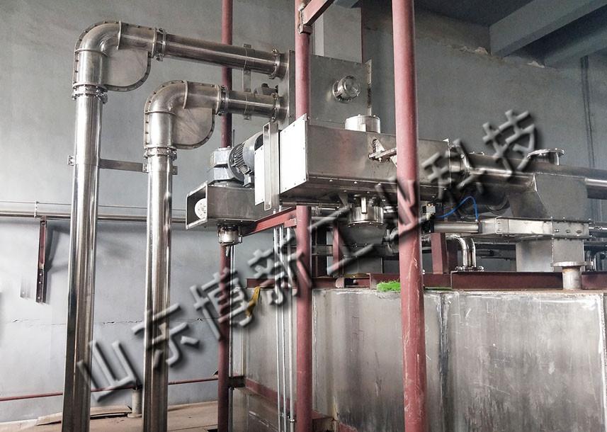 大米自动化管链输送机 紧凑密封型管链机