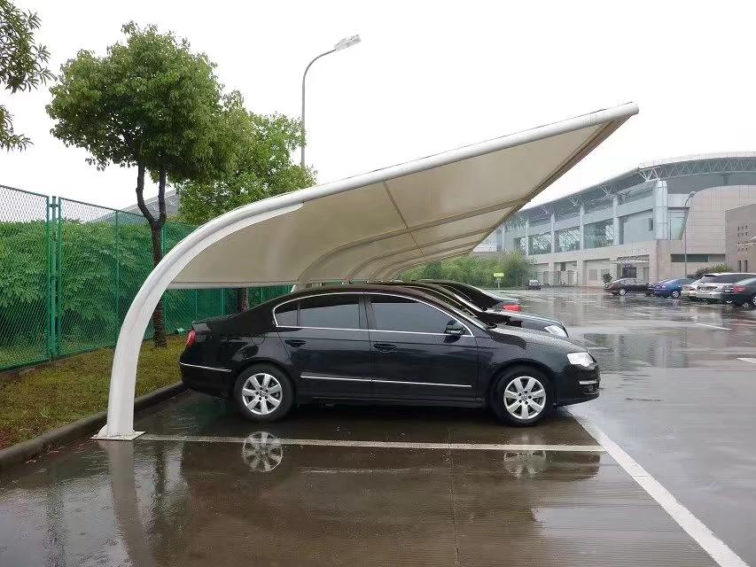 上虞全国上门安装停车棚7厂家定做停车棚1充电桩停车棚菲臣推拉蓬