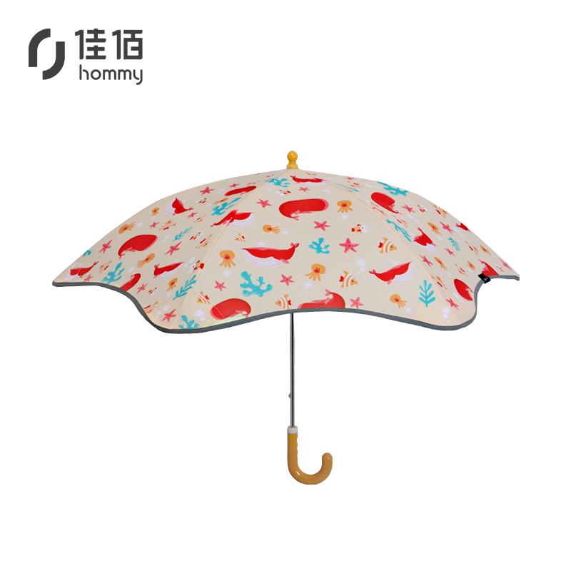 manbetx登陆热销创意儿童雨伞 学生防护伞 小孩遇水变色雨伞 学生校园礼品定制