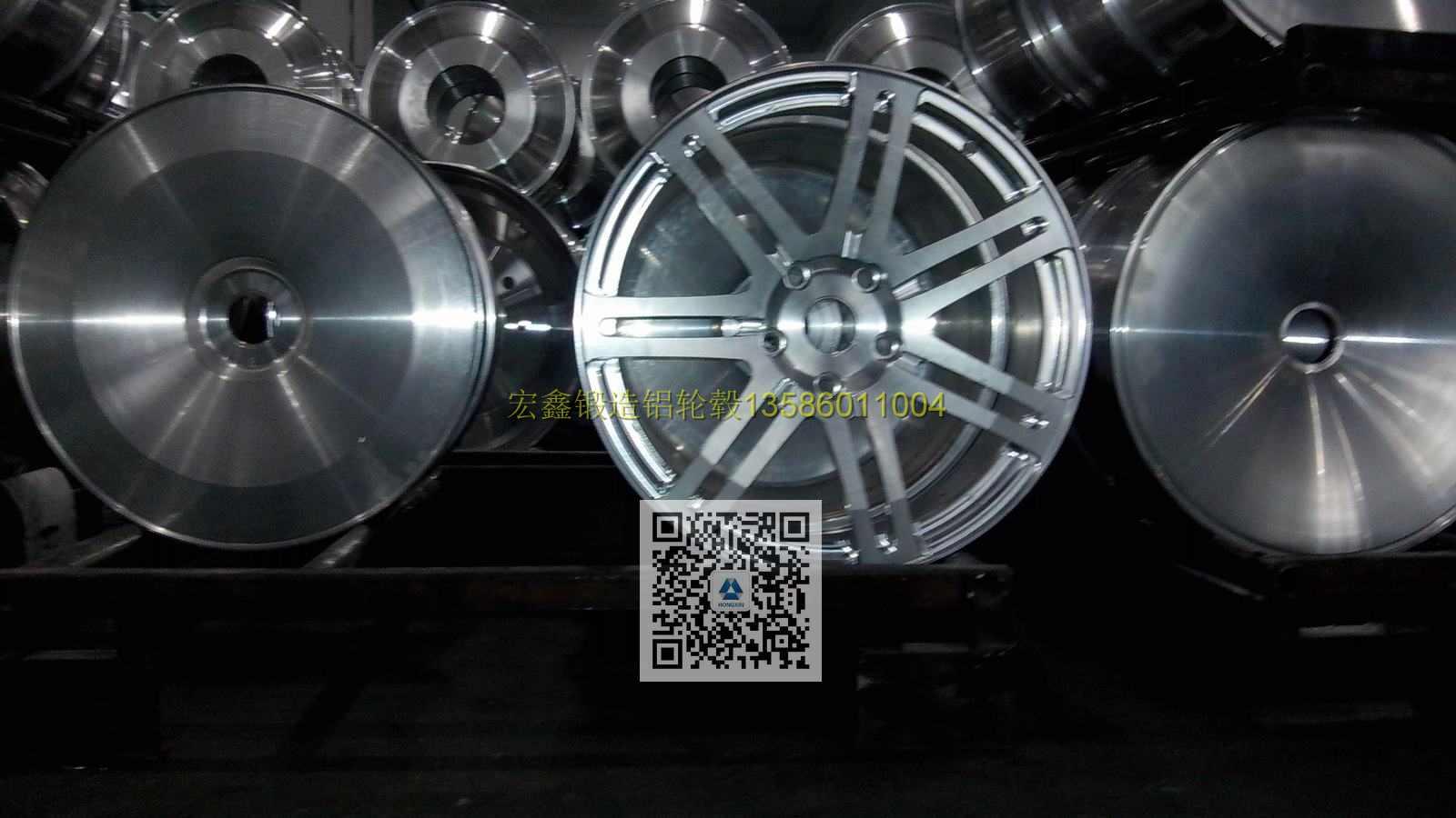 锻造铝合金轮圈锻造铝轮毂卡客车铝轮毂卡车锻造铝轮毂