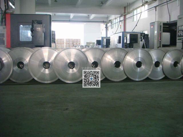 铝合金锻造绞线盘轻量化盘头