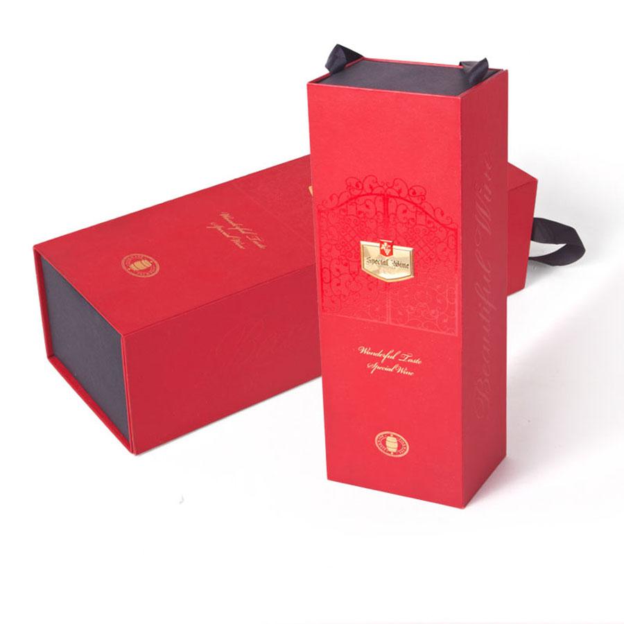 manbetx登陆供应定制个性创意酒类精品折叠包装盒