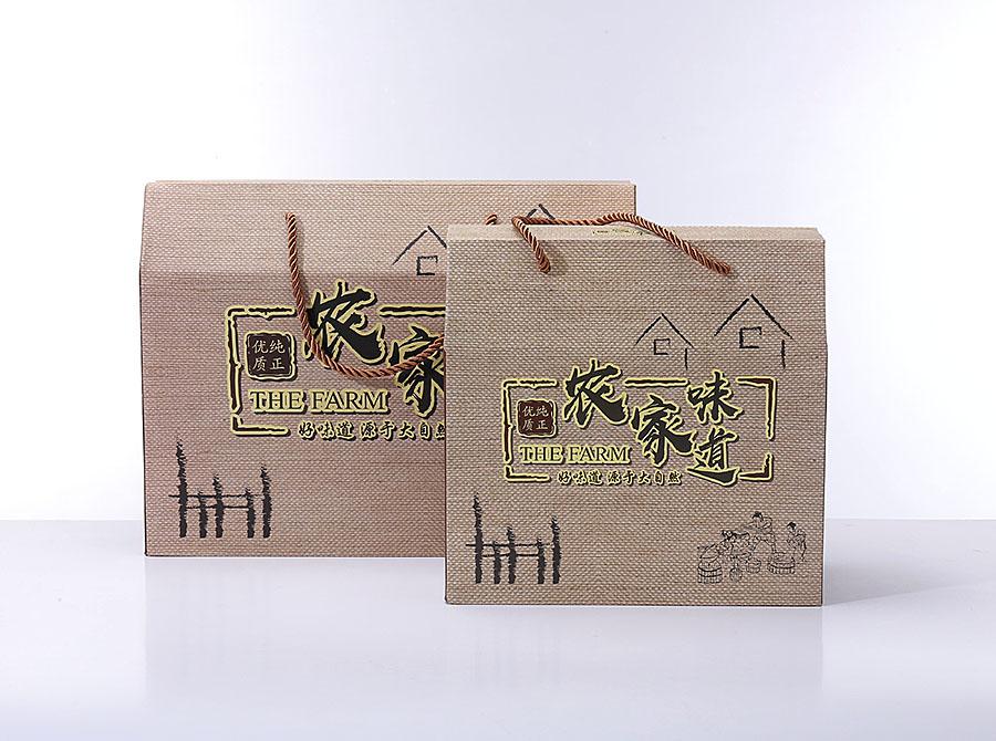 礼品包装盒定制manbetx登陆农副产品土特产提手盒