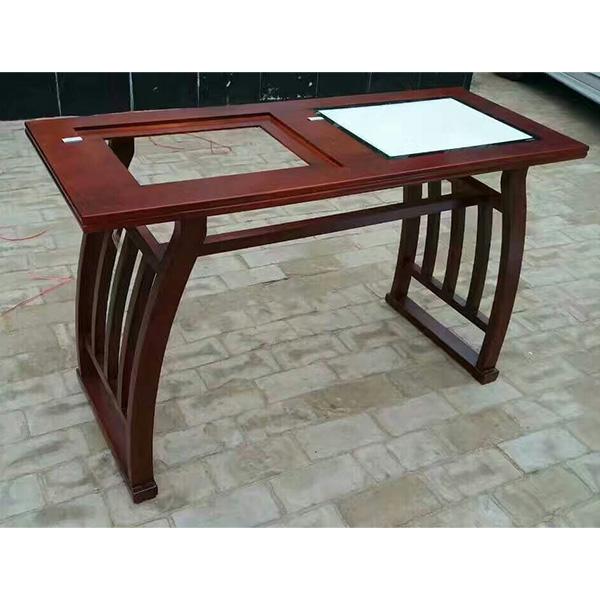 如今的河北国学馆课桌椅也在追求古人的典雅风范-露瑶天