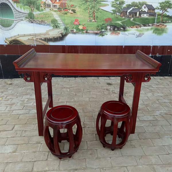 古典国学桌椅给人以醇古风雅的生活意识情怀和追求-露瑶天
