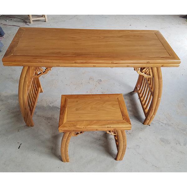 露瑶天国学课桌椅结构制作是明榫-露瑶天