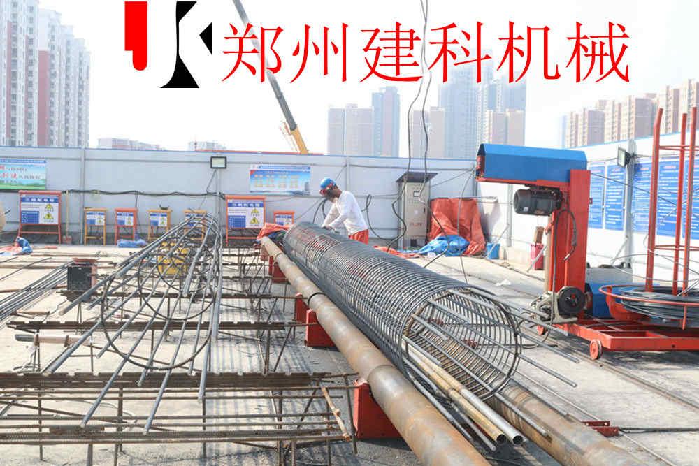 原州区全自动数控钢筋笼滚焊机生产工艺可靠