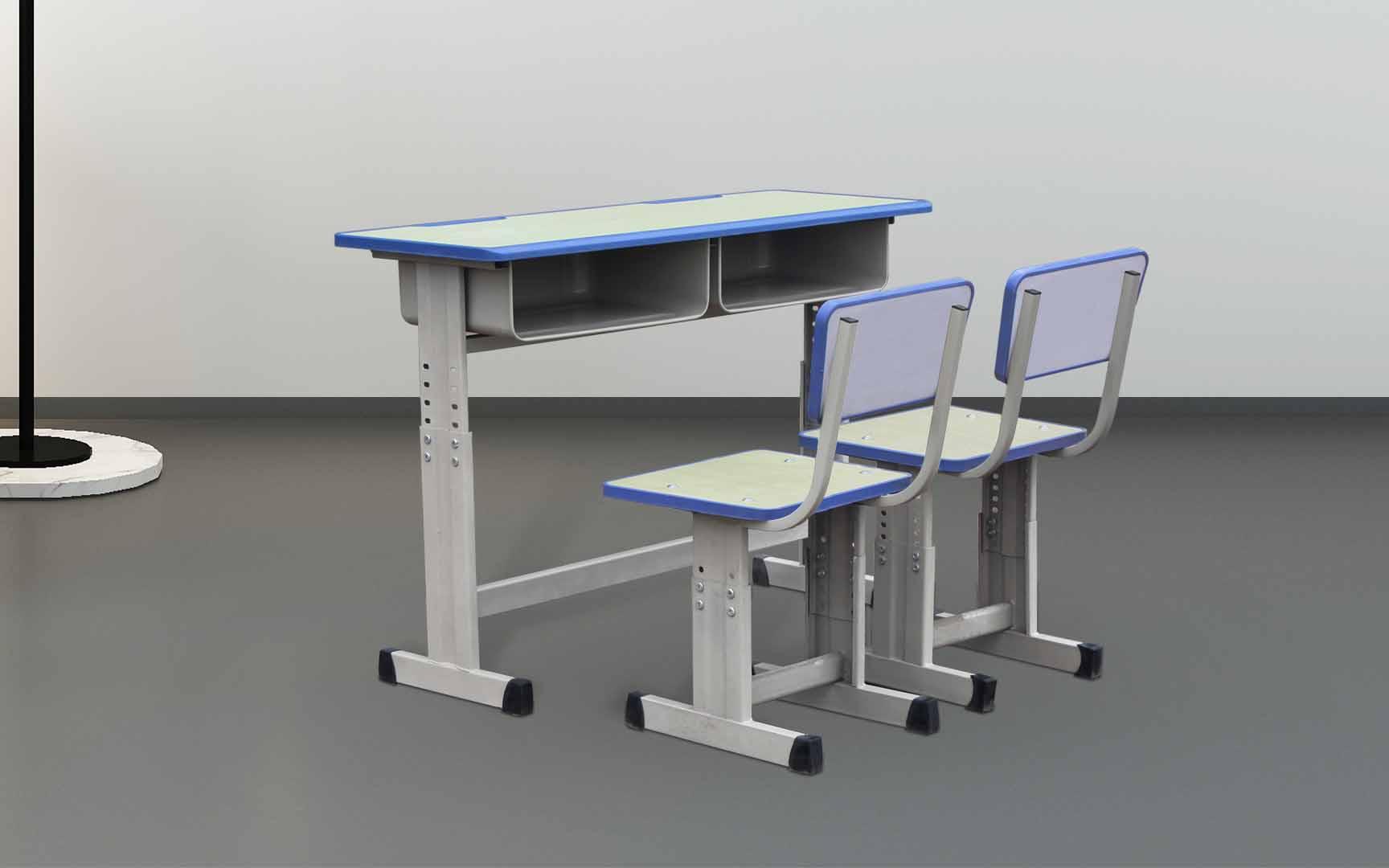 長春自習室升降課桌椅鋼木材料定制生產