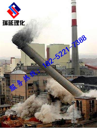 萊蕪高危煙筒拆除公司歡迎致電