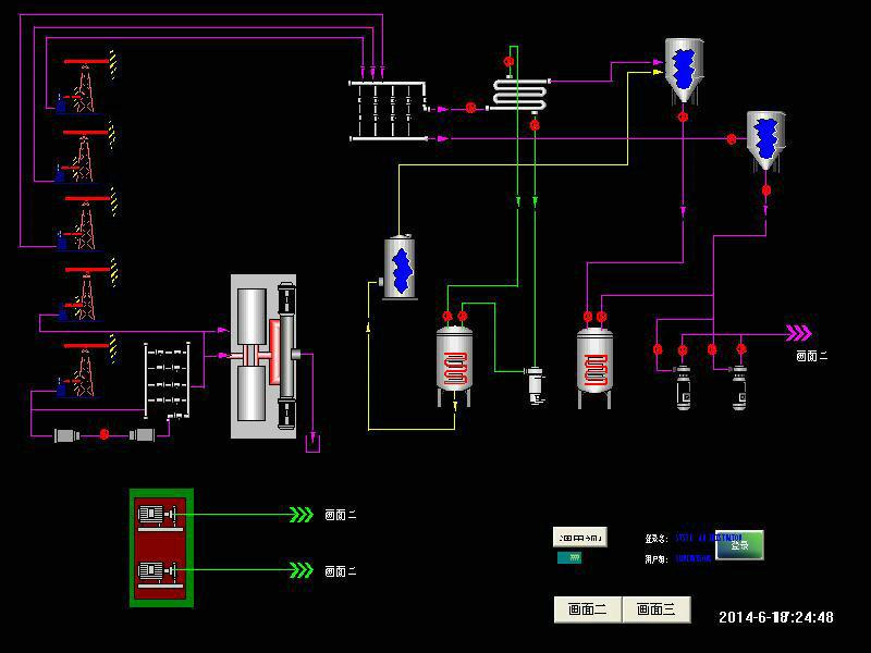 穆棱有名气的动态模拟配电装置模型油气集输培训模型教具