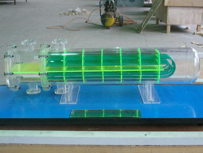 哈尔滨好的侧槽式溢洪道剖面布置模型管式换热器模型沙盘图