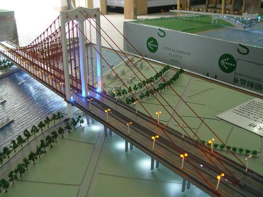 海林口碑好的重力坝临时横缝灌浆系统模型单塔式悬索大桥展品模型网址
