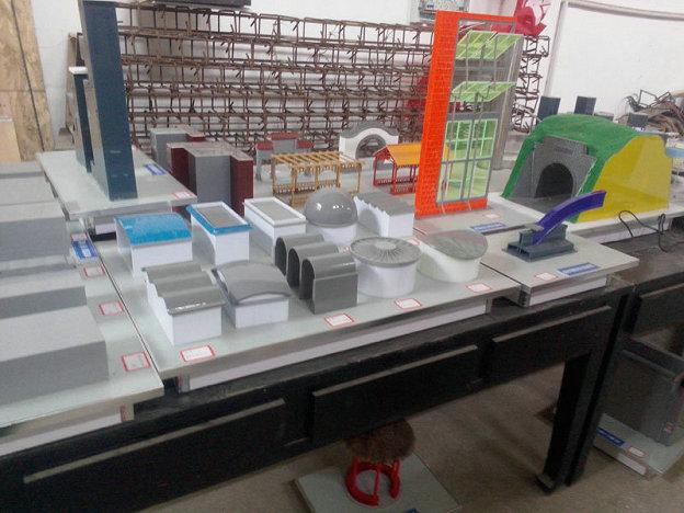 哈尔滨老牌的沸水堆模型建筑模型实验室模型模型设计