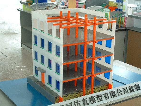 海林的河床式水电站机组段厂房模型建筑模型框架结构模型批发价