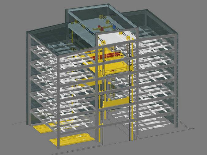 七台河优良的立体车库模型1000兆瓦核能电站模型找厂家