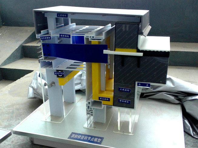 北安好用的顶封修竖剖节点模型新能源垃圾发电模型使用方法