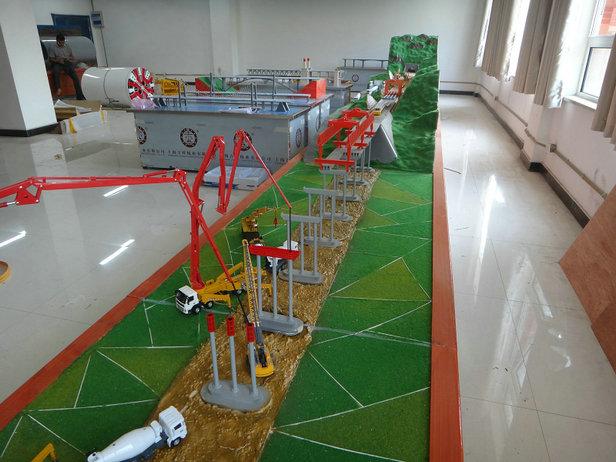 北安大品牌市政路桥施工模型核能电厂安全壳结构模型行业低价