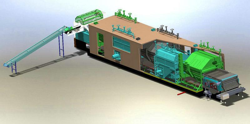 哈尔滨齐全的大型果蔬干燥机模型污水处理厂展示模型价格