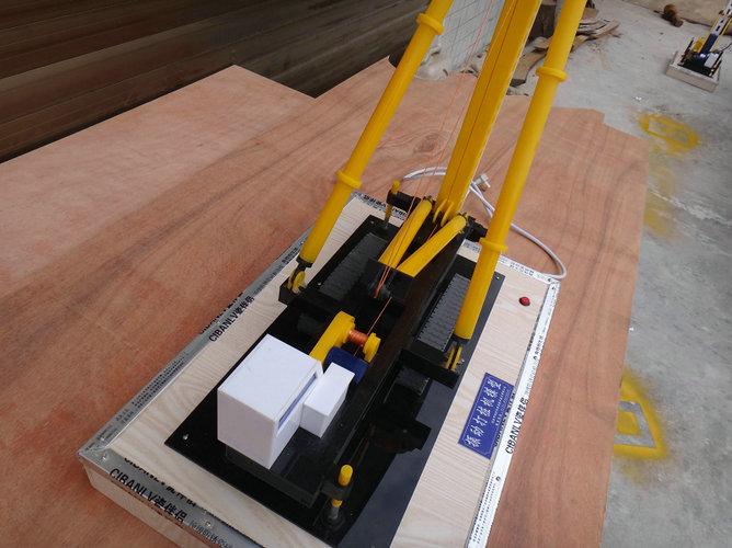 大庆服务好的振动打桩机模型波浪能筏式发电模型沙盘图