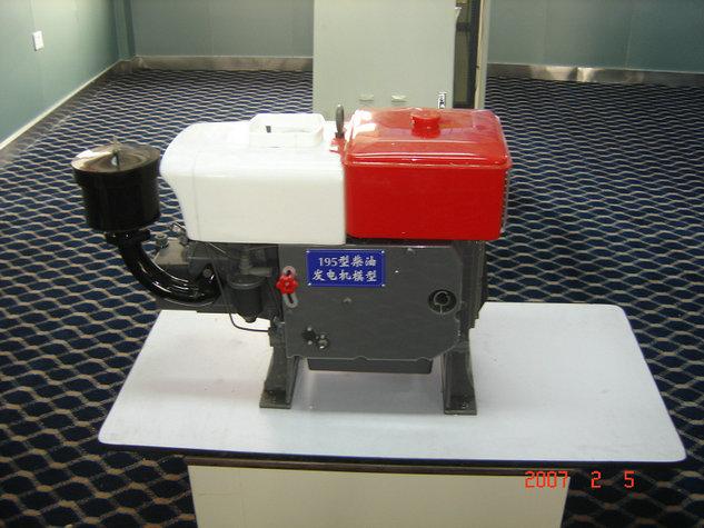 伊春有实力的柴油发电机展示模型波浪浮力摆式发电模型新款式